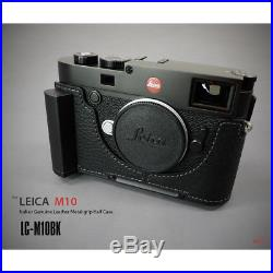 Lim's Design Lims Genuine Italy Leather Case for Leica M10 Black