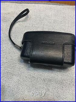 MINOX 35 GT CAMERA + MINOX FLASH With Leather Case & Pouch NEAR MINT 12.8 35 mm