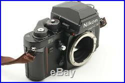 MINT Nikon F3 HP 35mm Camera Ai-s 50mm f/1.4 Lens Leather Case from JAPAN T021