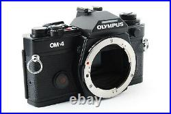 MINT+ OLYMPUS OM-4 Body SLR 35mm Film Camera withLeather case From Japan 714439