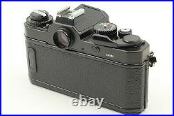 MINT in BOX with Leather Case Nikon FM3A BLACK 35mm SLR Film Camera from JAPAN