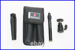Manfrotto 210B / LG 12 Long Table Top Tripod Ball Head Kit with Leather Case