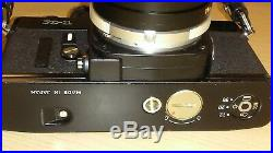 Minolta X-1 35mm Film Camera with Leather Case and zoom lenses. (US name XK)