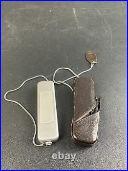 Minox B Spy Camera (Complan Lens 13.5 f=15mm) with Leather Case and Chain