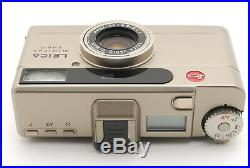 Mint+++Leica Minilux Zoom Film Camera with Leather Case from Japan-#2144