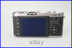 Mint Leica X1 12.2MP Compact Digital Camera with Leica Leather Case 18420