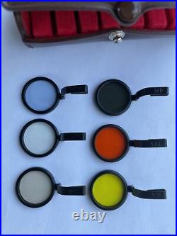 Mint Panon Widelux Filter Kit in Leather Case for Panoramic camera