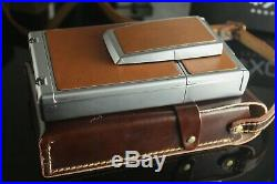 Mint Polaroid SX-70 Alpha 1 Land camera with Leather Carrying Case tested SX70