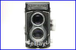 Mint Rolleiflex T TLR Film Camera with Tessar 75mm f/3.5, Leather Case y0053