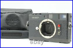 Mint withLeather Case & Strap Minolta CLE Rangefinder film camera from Japan