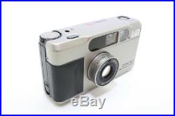 NEAR MINT CONTAX T2 D With Leather Case Point & Shoot Film Camera From JAPAN