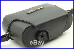 NEAR MINT Contax T2 Semi Hard Leather case From Japan 178