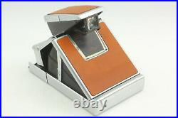 NEAR MINT POLAROID SX-70 LAND CAMERA with LEATHER CASE From JAPAN #981