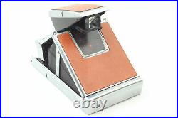 NEAR MINT Polaroid SX-70 Instant Film Camera with Leather Case From JAPAN