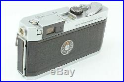 NEAR MINT with Leather Case Canon P 35mm Rangefinder Film Camera Body From JAPAN