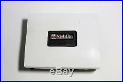 NEW CONDITION Nishika N8000 35mm 3-D Film Camera with New Leather Case n Cleaning