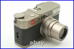 Near MINT Leather Case LEICA CM Zoom 35mm Point & Shoot Film Camera From JAPAN