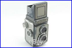 Near MINT+++Yashica-A 6x6 TLR Camera with 80mm f3.5 Leather Case from JAPAN 562