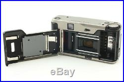 Near Mint Contax TVS 35mm point & shoot Camera with Leather Case Japan 1207A