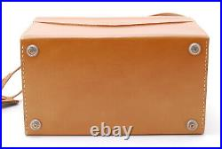 Near Mint Hasselblad Genuine Brown Leather Case For Swc Series By Fedex