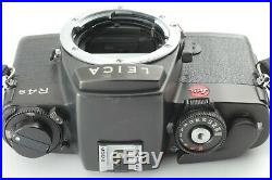 Near Mint In Leather Case Leica R4s 35mm Slr Film Camera Body Strap From Japan