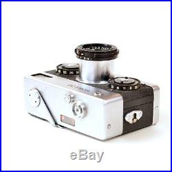 Nice Rollei 35 camera with 40mm 3.5 tessera Carl Zeiss Leather case- 024005