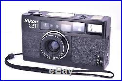 Nikon 28Ti Camera Body with Strap / Leather Case / Manual Excellent #613749