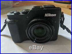Nikon Coolpix P7800 Digital Camera. With leather case. Battery and charger incl