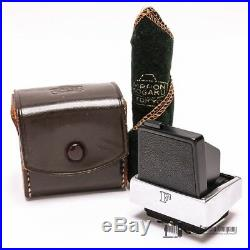 Nikon F Waist-Level View Finder with Wrapping Cloth & Nippon Kogaku Leather Case