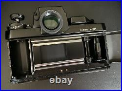 Nikon F3 HP 35mm SLR Film Camera Body Only With Leather Half Case Excellent