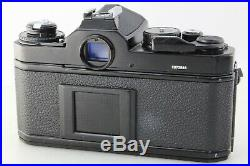 Nikon FE2 body only black 35mm SLR film camera with leather case