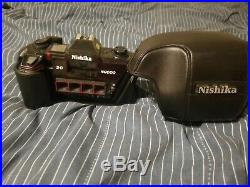 Nishika N8000 35mm 3D Stereo Camera with leather case