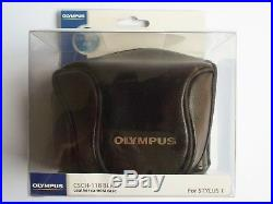 Olympus Stylus 1 Camera with leather case, lens adapter and many extras
