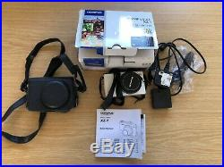 Olympus XZ-1 Digital Camera -BOXED + 4GB SD + Accessories + leather case