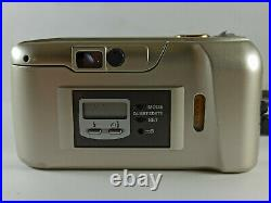 Olympus µmju-II Zoom 115 35mm AF Compact Film Camera + leather case and strap
