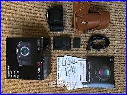 Panasonic Lumix DMC-G85 M4/3 Camera (Body Only) MINT, Leather Case FREE SHIPPING