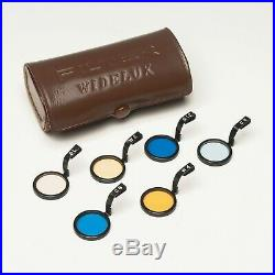 Panon Widelux 6 Filters Kit in Leather Case for Panoramic camera