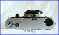 Pentacon Super Very Rare Vintage 35mm Camera Body Only + Leather Case