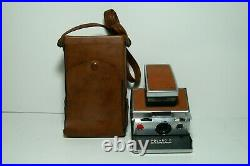 Polaroid SX-70 Instant Camera With Leather Case Tested
