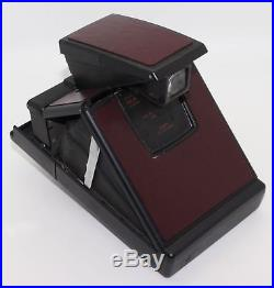 Polaroid SX-70 Land Camera Model 2 with Polaroid leather case VGC/tested