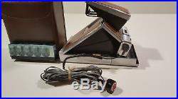 Polaroid SX-70 Land Camera with leather case Excellent Condition