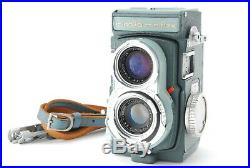 Rare! EXC+3 Minolta Miniflex TLR Camera with Rokkor 60mm f/3.5 & Leather Case