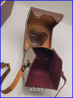 Rare Mint Ihagee Exakta 66 SLR Camera Fitted Leather Case