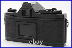 Rare! Mint+++Pentax MX Black Film Camera Body with Leather Case and Strap-#3073