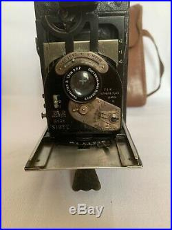 Rare Newman & Guardia Baby Sibyl Camera With Leather Case