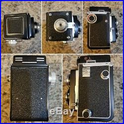 Ricoh Diacord TLR Camera with Leather Case