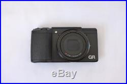 Ricoh GR II 16.2MP Digital Camera Mint, boxed withleather case, spare batteries