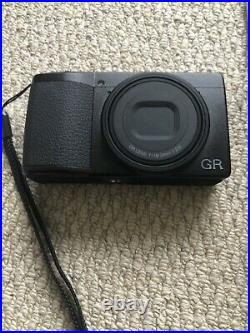 Ricoh GR III 24.2 MP Digital Camera With Ricoh Leather Case