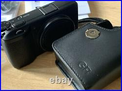 Ricoh GR III / 3 Digital Camera, Boxed, With Ricoh GC-9 Leather Case
