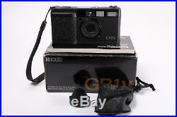 Ricoh GR1V Mint Condition 28mm f2.8 35mm Film Camera Boxed/Leather Case